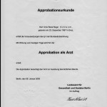 Dr. Arno R. Schleich MD German license